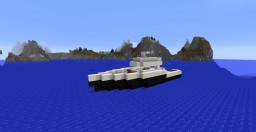 Medium Fishing Boat Minecraft Map & Project