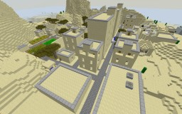 Minecraft City Map:Raptor City (Sand) Minecraft Map & Project