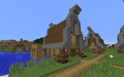 Midieval Town! Minecraft Project