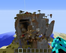 The Huge Mountain Village Minecraft
