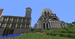 My town Called Axis Minecraft Project