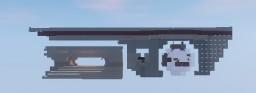 RHINO AIRSHIP/ DROPSHIP (VALKYRIAN WARFARE MOD 1.10.2) Minecraft Map & Project