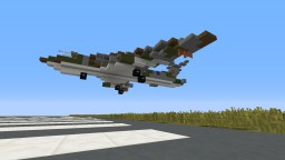 Handley Page Victor Minecraft Map & Project