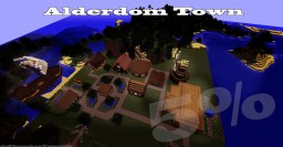 Alderdom Town! Minecraft Map & Project