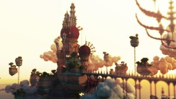 Red-Pearls | the meet up of the orient and occident Minecraft Map & Project