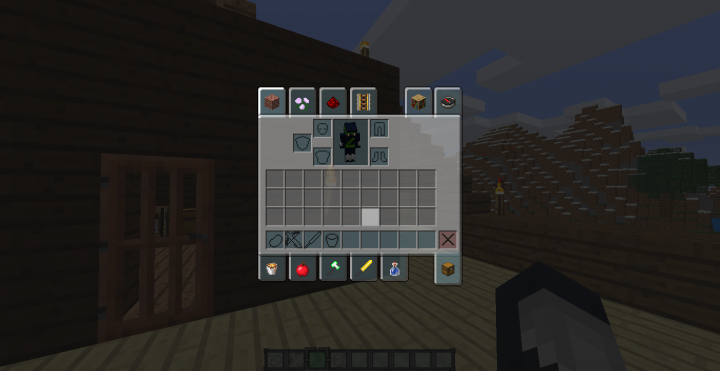 inventory is transparent