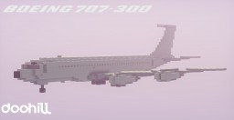 Boeing 707-320 Minecraft
