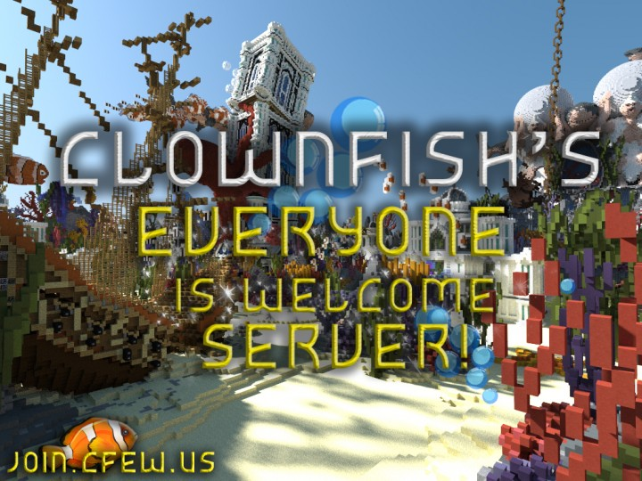 Clownfish Everyone Is Welcome - Survival | Slimefun