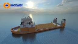 Dockwise Vanguard 1:1 scale Minecraft Project