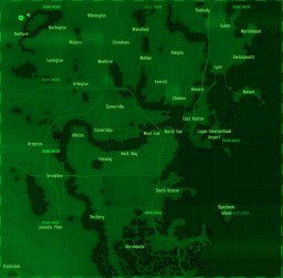 fallout 4 full map without mountians Minecraft Project
