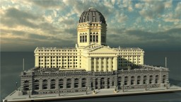 Chicago Federal Building | c. 1905-1965 | Chicago, Illinois Minecraft