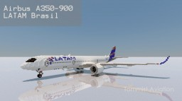 Airbus A350-900XWB LATAM Brasil [+Download] Minecraft