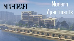 Modern Apartment Building 5 (full interior) Minecraft