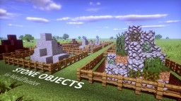 Stone Asset Pack for WorldPainter [BO2 + Grid world] Minecraft Map & Project