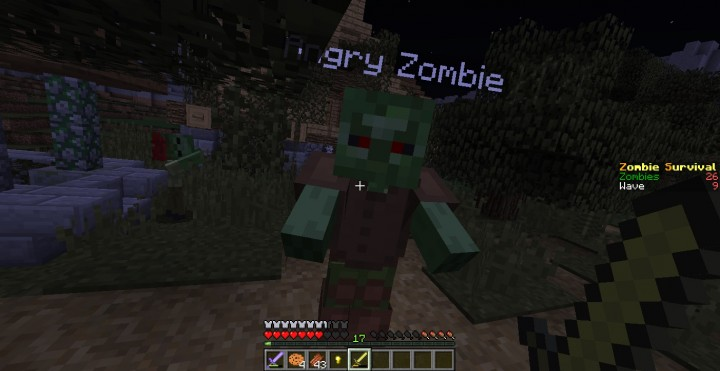 Infestation survival mini game minecraft project for Zombie crafting survival games