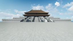 Hall of Supreme Harmony (Chinese Architecture 03) 3:1 Minecraft Project