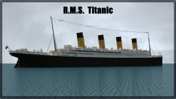 Model of R.M.S. Titanic in scale 4:1 Minecraft Map & Project