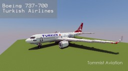 Boeing 737-700 Turkish Airlines [+Download] Minecraft Project