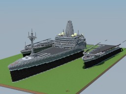New type of integrated support ship project Minecraft Map & Project