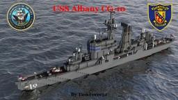 USS Albany (CG-10) Minecraft Project