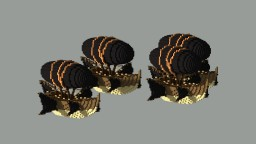 The Black Ghost - a pirate ship Minecraft Project