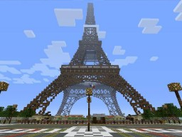 The Eiffel Tower (Minecraft VERSION) Minecraft Project