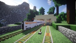 Traincraft HUGE 50km Long Network Map