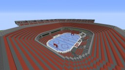 Massive Minecraft Hockey Stadium