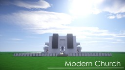 Modern Church Minecraft Map & Project