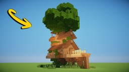 AMAZING TREE HOUSE - MINECRAFT TUTORIAL Minecraft Project