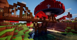 Mushroom bridge Minecraft Project