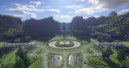 A lobby build. Minecraft