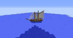 18th Century Schooner Minecraft