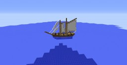 18th Century Schooner Minecraft Project