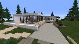 Modern MInimalist House Minecraft Project