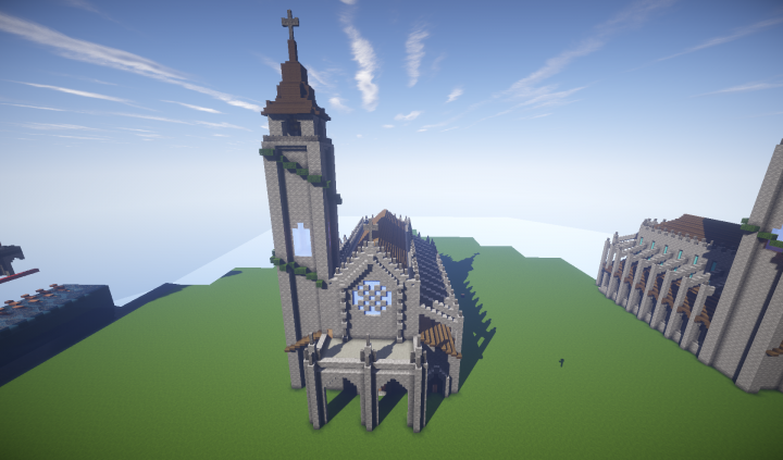 Small Gothic Cathedral Minecraft Map