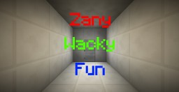 Zany Wacky Fun Time Minecraft Map & Project