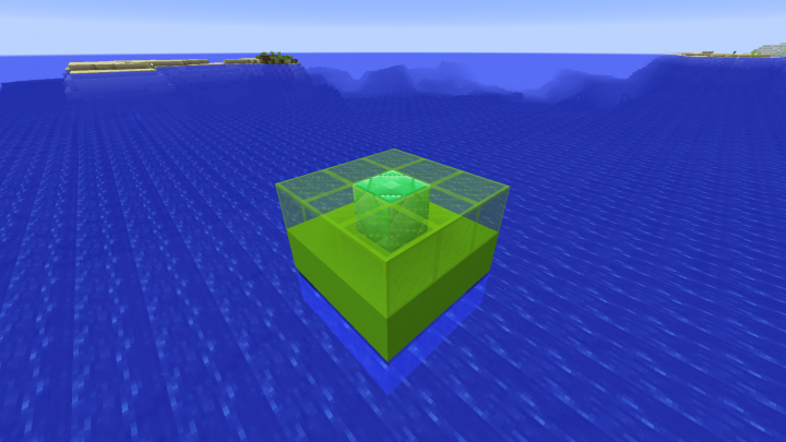 Building the Xp-Storage Step 3 - Lime Glass and Emerald-Block