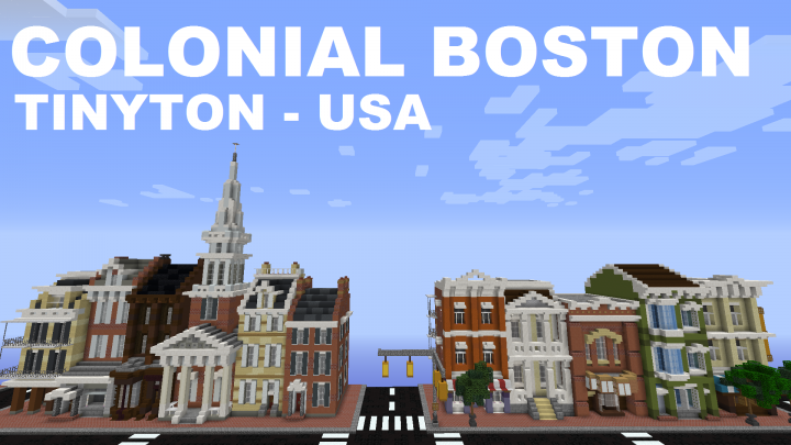 00a03acd8f4274 Tinyton USA - Old Boston Minecraft Project
