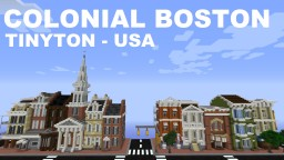Tinyton USA - Old Boston Minecraft Project
