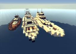 Yacht Collection Minecraft Map & Project