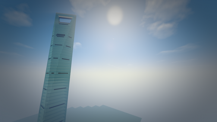 Shanghai World Financial Center 1 2 5 Minecraft Project