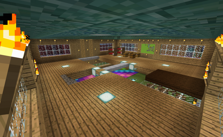 Upper Level in the Main House upgraded in 1.12 release!