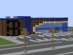 Bugatti Dealership Minecraft Project