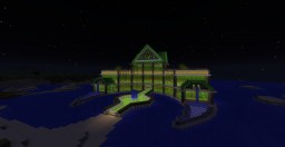 Beach Disco/Night Club Minecraft Map & Project