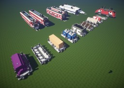 Trains! Minecraft Map & Project