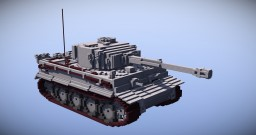 tigerⅠ 10:1scale Minecraft Project