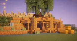 LOTR Hobbit Inspired House Minecraft Map & Project