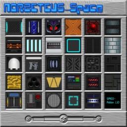 Norzeteus Space.1.8 - 1.12  Addon [128x] Minecraft Texture Pack