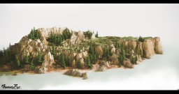 White montains Minecraft